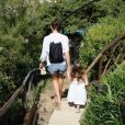 Gal Gadot et sa fille Alma. Photo publiée sur sa page Instagram à l'été 2016