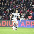 Yoann Gourcuff lors du match Psg-Rennes au Parc des Princes à Paris le 6 novembre 2016 (victoire 4-0 du PSG).