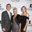Ivana Trump, ses enfants Eric Trump et Ivanka Trump lors du 8ème tournoi de golf annuel Eric Trump au Trump National Golf Club Westchester au Briarcliff Manor à New York, le 15 septembre 2014.
