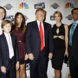 "Eric Trump, Barron Trump, Melania Trump, Donald Trump, Ivanka Trump, Donald Trump Jr. - Soirée de la série ""The Celebrity Apprentice"" à New York le 18 février 2015."