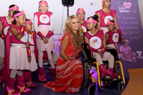 Paris Hilton au Mexique : L'héritière redonne le sourire aux enfants malades