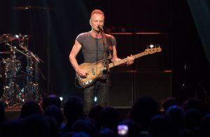 Sting au Bataclan, émouvant et sobre face aux familles des victimes...