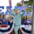 Meeting d'Hillary Clinton, candidate démocrate à l'élection présidentielle américaine, à Pembroke Pines en Floride le 5 novembre 2016.