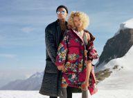 Gregory van der Wiel : Mannequin à la montagne avec sa bombe