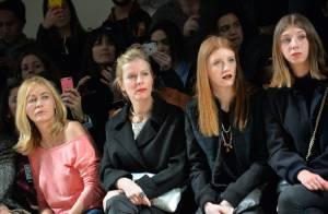 Karin Viard et ses filles :