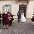 Tiffany et Thomas lors de leur mariage dans Mariés au premier regard, épisode 2, diffusé sur M6 le 14 novembre 2016