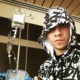 Taboo des Black Eyed Peas lors de sa chimiothérapie, il y a deux ans. Il s'est battu contre un cancer des testicules. Photo publiée sur Instagram le 17 novembre 2016