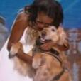 """Fabienne et Finley dans """"Incroyable Talent"""" sur M6, le 22 novembre 2016."""