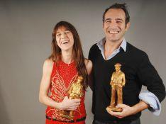 Charlotte Gainsbourg et Jean Dujardin récompensés