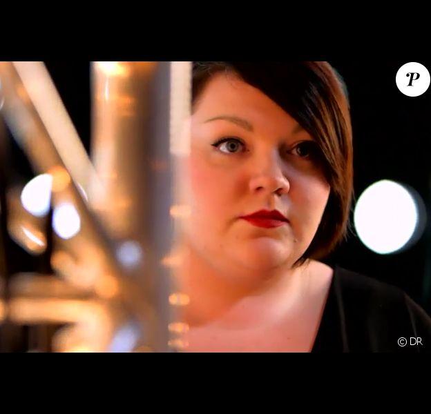 La talentueuse Mathilde dans The Voice 4, sur TF1, le samedi 31 janvier 2015