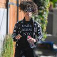 Exclusif - Alicia Keys quitte un studio d'enregistrement à Los Angeles le 22 octobre 2016.