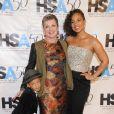 Alicia Keys, son fils Egypt et sa mère Terria Joseph assistent au 50e anniversaire de la Harlem School of the Arts organisé au Plaza Hotel de New York le 5 octobre 2015.