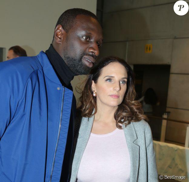 """Omar Sy et sa femme Hélène - Avant-première du film """"Norm"""" au cinéma Mk2 Bibliothèque à Paris, le 4 décembre 2016. © CVS/Bestimage"""