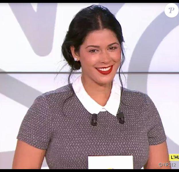 """Ayem Nour dans le """"Mad Mag"""" de NRJ12, mardi 6 décembre 2016"""