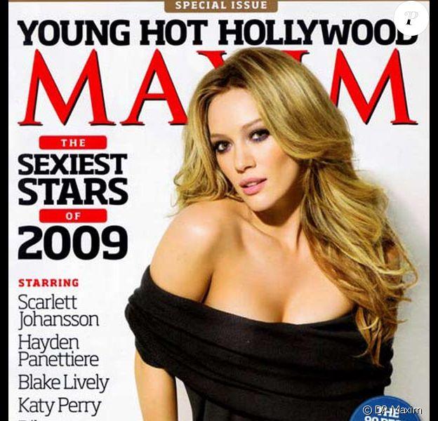 Hilary Duff pour Maxim