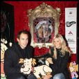 Alexandra Rosenfeld et son fiancé Sergio Parisse