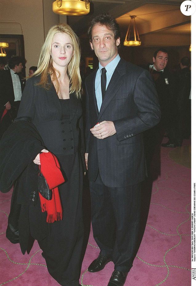 Vincent Lindon et Sandrine Kiberlain - Cérémonie des César en 2000