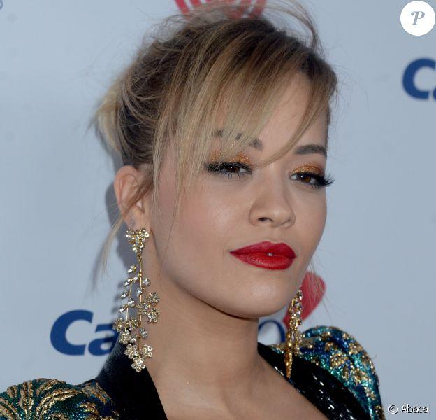 Rita Ora à la soirée Z100's Jingle Ball au Madison Square Garden de New York, le 9 décembre 2016