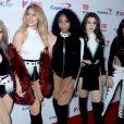 Ally Brooke, Dinah Jane Hansen, Normani Kordei, Lauren Jauregui et Camila Cabello des Fifth Harmonyà la soirée Z100's Jingle Ball au Madison Square Garden de New York, le 9 décembre 2016