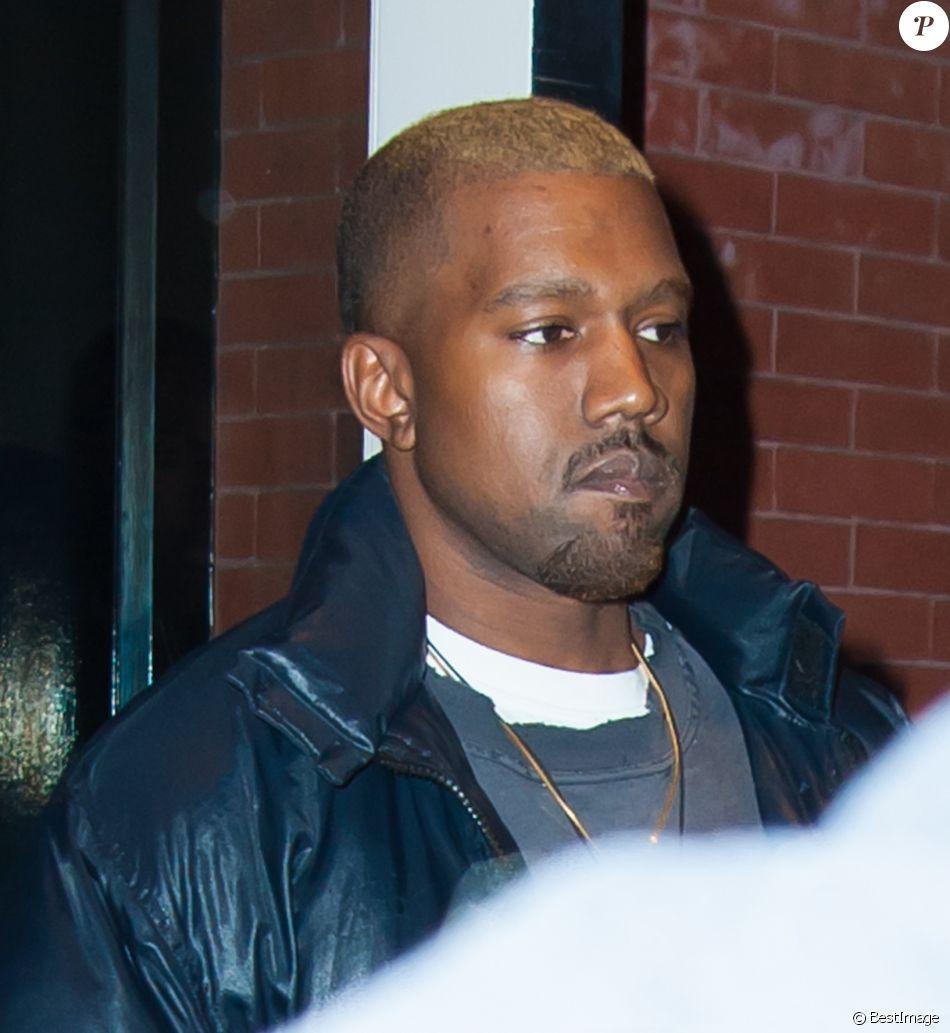 Kanye West est allé déjeuner avec Corey Gamble au restaurant The Mercer Kitchen à New York, le 12 décembre 2016.