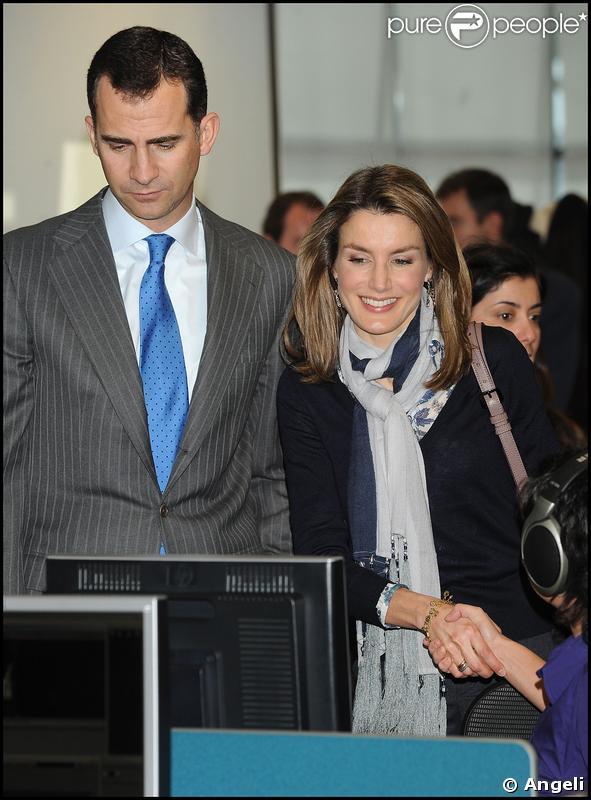 Letizia d'Espagne et Felipe