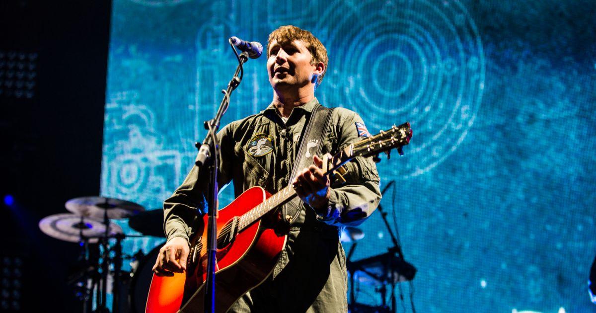James Blunt En Concert Au Royal Albert Hall 224 Londres Le