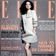 Marion Cotillard en couverture du magazine ELLE du 16 décembre 2016.