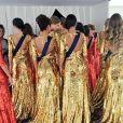 Les 30 Miss régionales dans les coulisses de l'élection de Miss France 2017 le 17 décembre 2016 à l'Arena de Montpellier