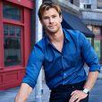 L'acteur australien Chris Hemsworth, ambassadeur de la marque, pose pour la nouvelle campagne TAG Heuer