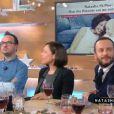 """Natasha St-Pier parlant de son fils Bixente sur le plateau de l'émission """"C à vous"""" le lundi 19 décembre 2016"""