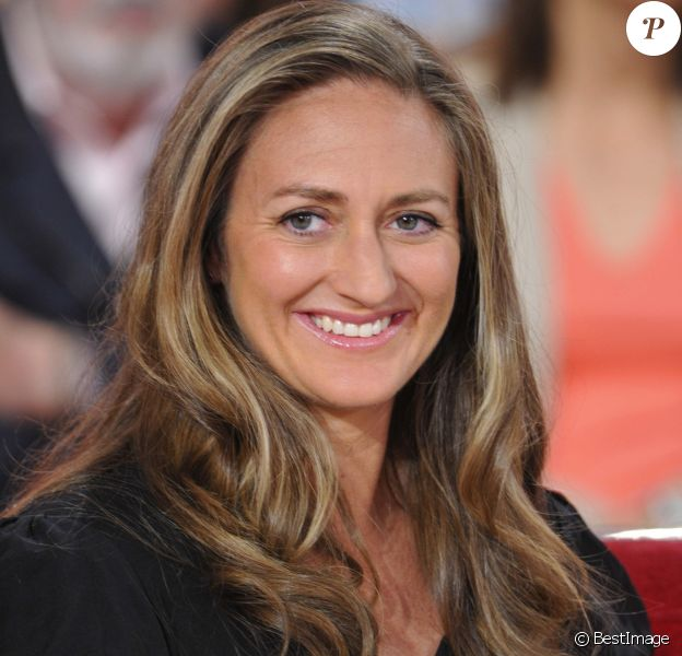 "Mary Pierce - Enregistrement ""Vivement Dimanche"", à Paris, le 15 mai 2012."