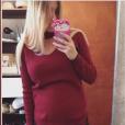 Alexia Mori (Secret Story 7) enceinte, le 4 novembre sur Instagram.