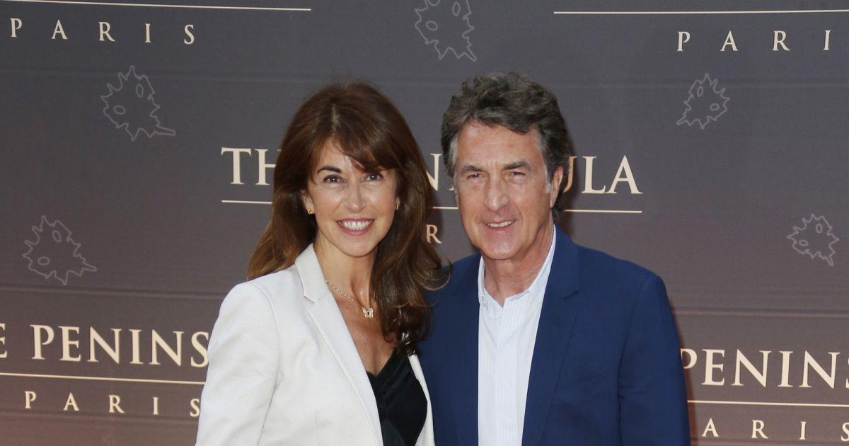 Fran ois cluzet et sa femme narjiss inauguration de l - Francois busnel sa femme ...