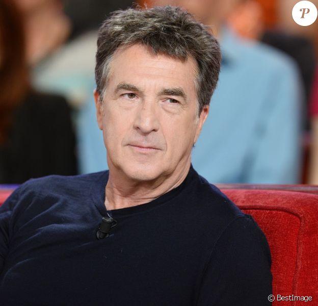 """François Cluzet - Enregistrement de l'émission """"Vivement Dimanche"""" à Paris le 02 Juin 2015."""