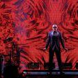 George Michael en concert à l'Opéra Garnier à Paris avec le spectacle de sa tournée Symphonica, au profit du Sidaction, le 9 septembre 2012. Le chanteur anglais est mort à 53 ans le 25 décembre 2016.