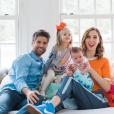 Eva Amurri et son mari Kyle Martino avec leurs deux enfants, Marlowe et Major.