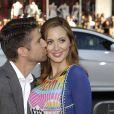 """Kyle Martino et sa femme Eva Amurri Martino (enceinte) lors de la première du film """"Tammy"""" à Los Angeles, le 30 juin 2014."""