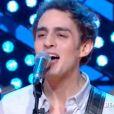 """Benjamin Siksou en live dans """"Quotidien"""", sur TMC, le 2 janvier 2017."""