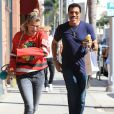 Lionel Richie et sa fille Sofia Richie passent la journée ensemble à Beverly Hills le 2 septembre 2016.