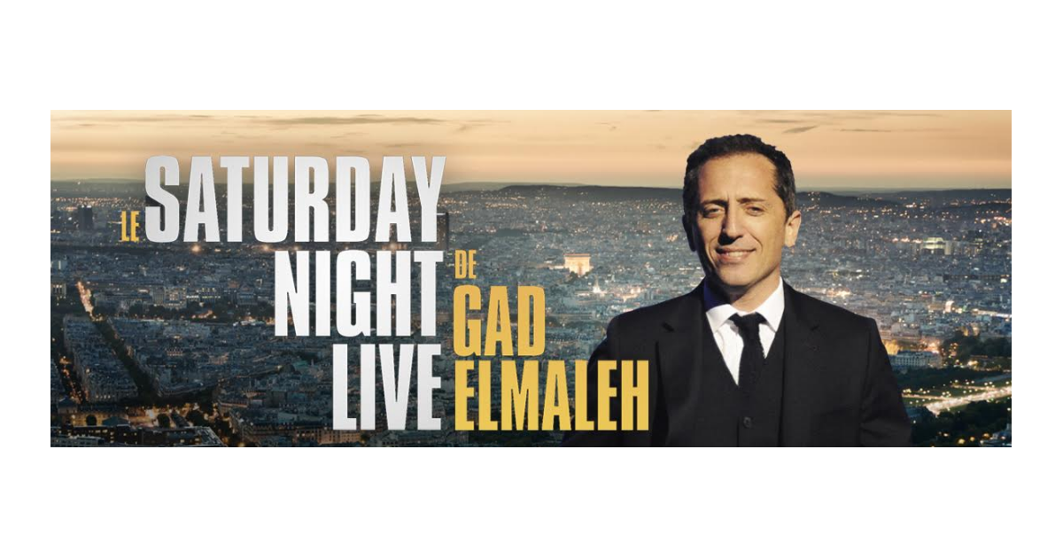 gad elmaleh host du premier saturday night live fran ais purepeople. Black Bedroom Furniture Sets. Home Design Ideas
