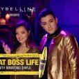 """MakeupShayla et MannyMUA dans """"That Boss Life Pt. 2"""" pour Maybelline. Janvier 2017."""
