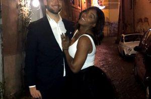 Serena Williams fiancée surprise : La championne dévoile sa grosse bague