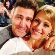 Jodie Sweetin et son fiancé, posent sur Instagram. Septembre 2016.