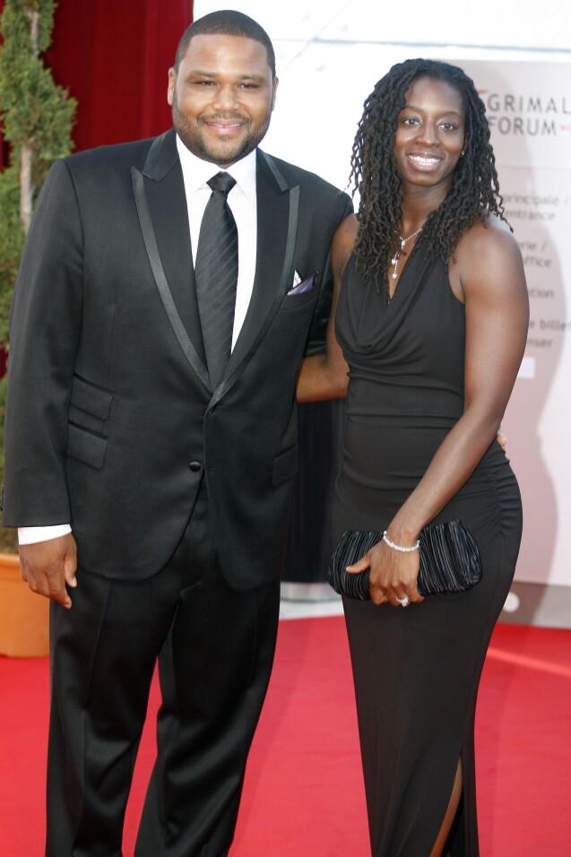 Anthony Anderson et sa femme Alvina lors de la cérémonie de clôture du 49e Festival de Télévision de Monte-Carlo, le 11 juin 2009.