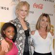 """""""Nicole Kidman, Simone Biles  à la 4e soirée des Gold Meets Golden Event à Los Angeles, le 7 janvier 2017"""""""