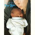 Victoria Azarenka a accouché le 20 décembre 2016 d'un petit Leo, ici dans ses bras pour adresser ses voeux à ses abonnés sur les réseaux sociaux.
