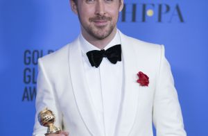 Golden Globes : Ryan Gosling, ému, célèbre sa chérie Eva Mendes et leurs filles