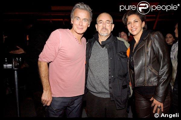 Franck Dubosc, Jean-Jacques Beineix et Corinne Touzet