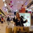 Emmanuelle Berne accro au shopping sur Instagram, décembre 2016