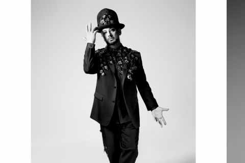 Boy George : Fantasque égérie de Dior Homme, avec Rami Malek et A$AP Rocky